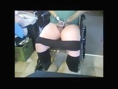 Disabled wanker cums.flv