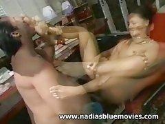 Andrea 'Nadia' Spinks - Foot Job