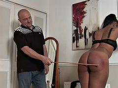 lola strictly punished by her boyfriend