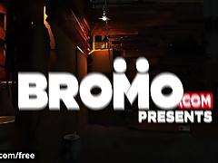 Bromo - Buck Richards with Jaxton Wheeler at Bareback