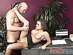 On the desk getting railed by dick