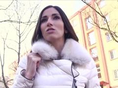 Clea Gaultier In French Lingerie Model Fucks for Cash