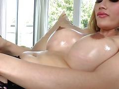 Asian Shemale Eva Lin Having Solo Fun