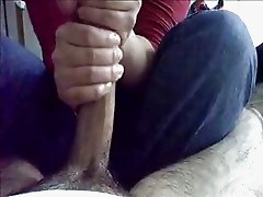 POV Homemade Amateur Handjob