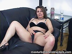 Jerk off teacher wants you to masturbate and explode on her